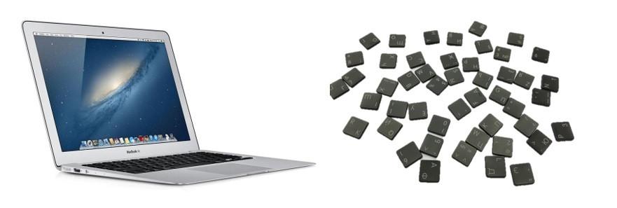 Замена клавиш MacBook