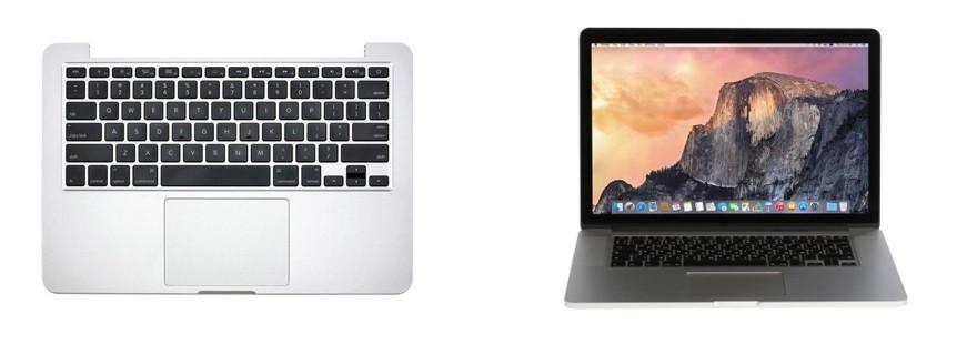 Ремонт топ-панели MacBook