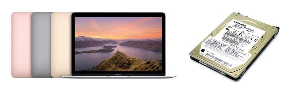 Ремонт HDD MacBook
