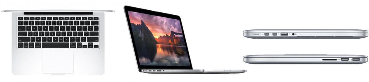 ремонт MacBook Retina 13
