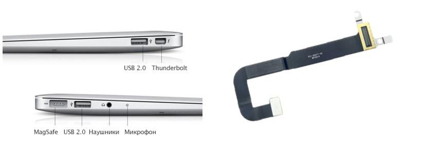 Ремонт USB разъема MacBook