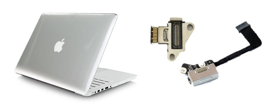 Ремонт разъема питания MacBook