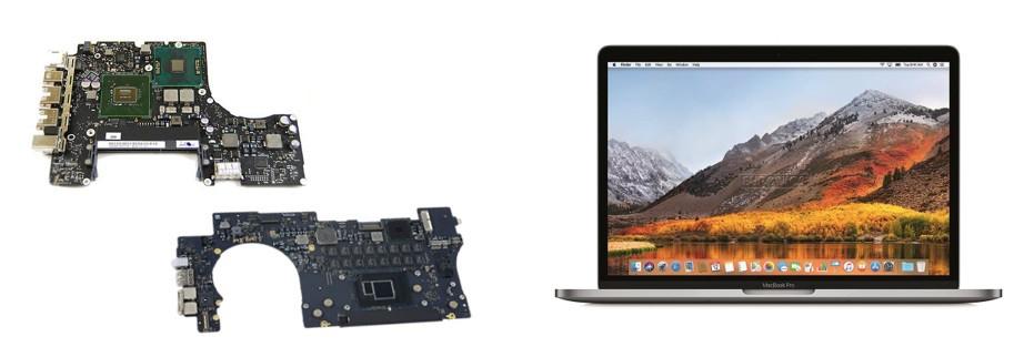 ремонт материнской платы macbook pro 15